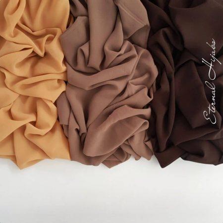 chiffon hijab bundle desert