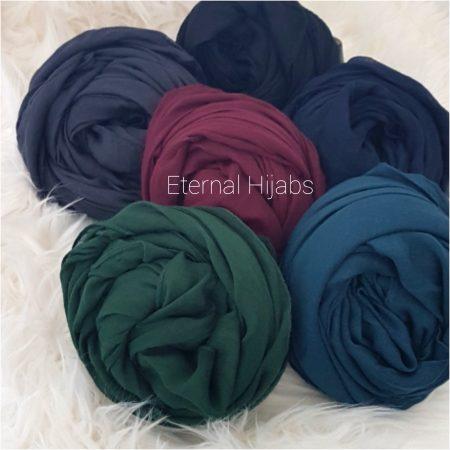 plain viscose hijab bold and beautiful