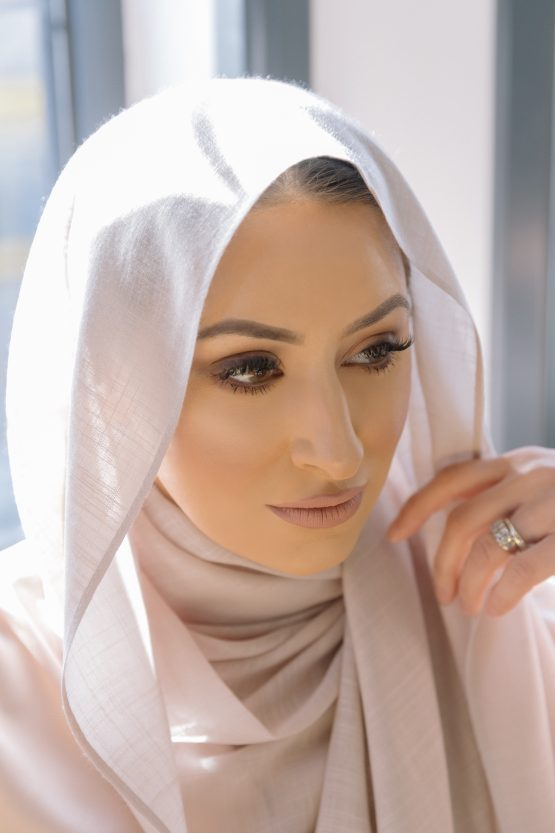cotton candy hijab misty