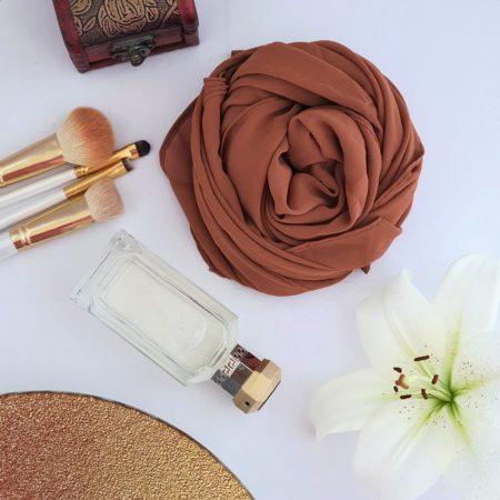 Chiffon Hijab Cinnamon