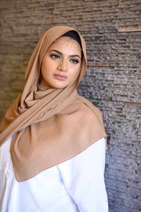 ripple chiffon hijab desert