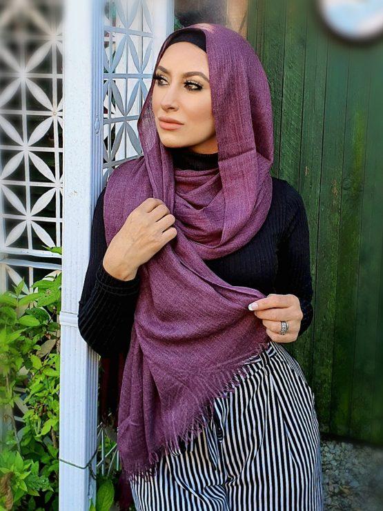 Modal Hijab Mauve