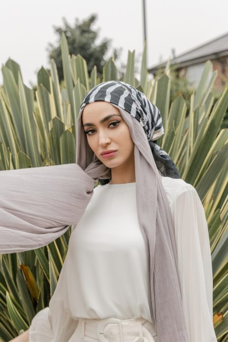 Crinkle Rayon Hijab Misty