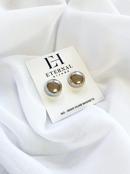 No- Snag Hijab Magnet Silver