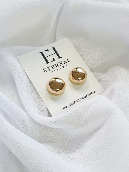 No Snag Hijab Magnet Gold