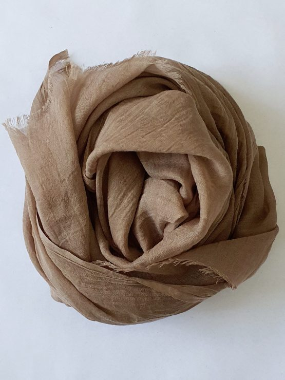 Soft Cotton Hijab Latte