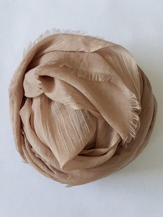 Soft Cotton Hijab Mocha