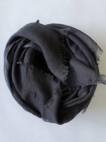soft cotton hijab charcoal