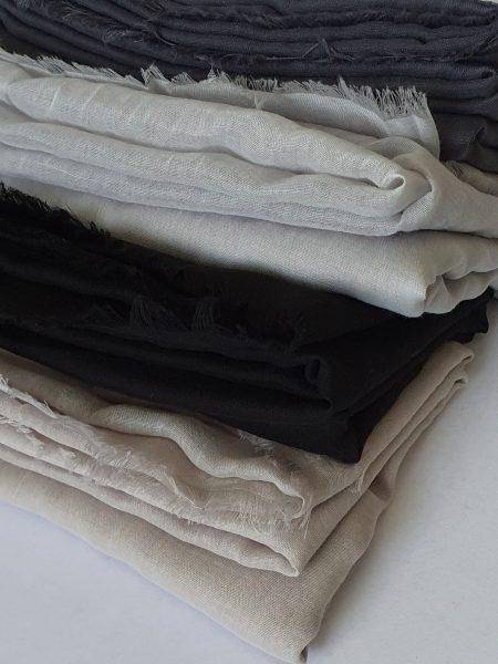 soft cotton hijab bundle greys