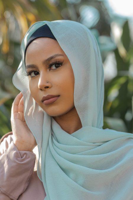 Krush Chiffon Hijab Ocean Spa
