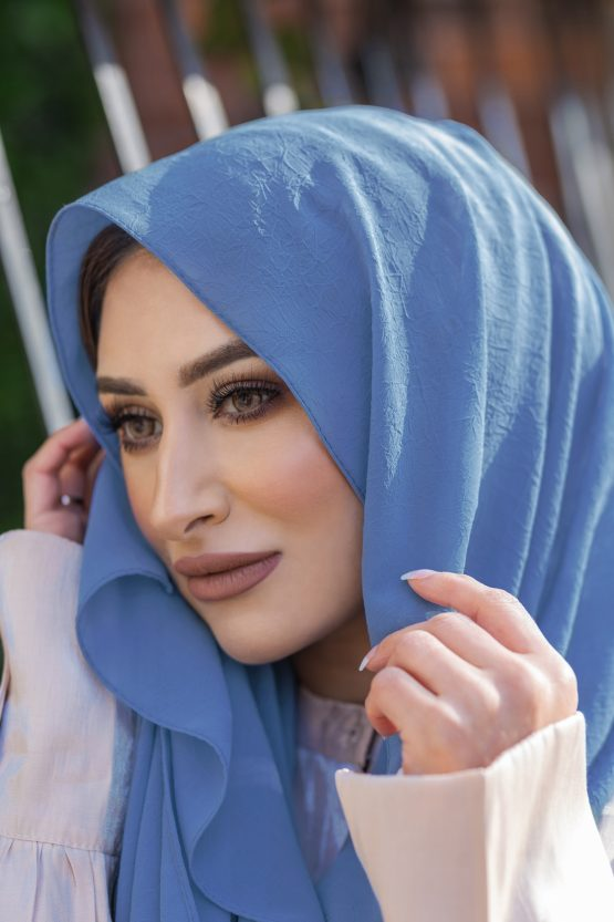 Krush Chiffon Hijab Carolina Blue