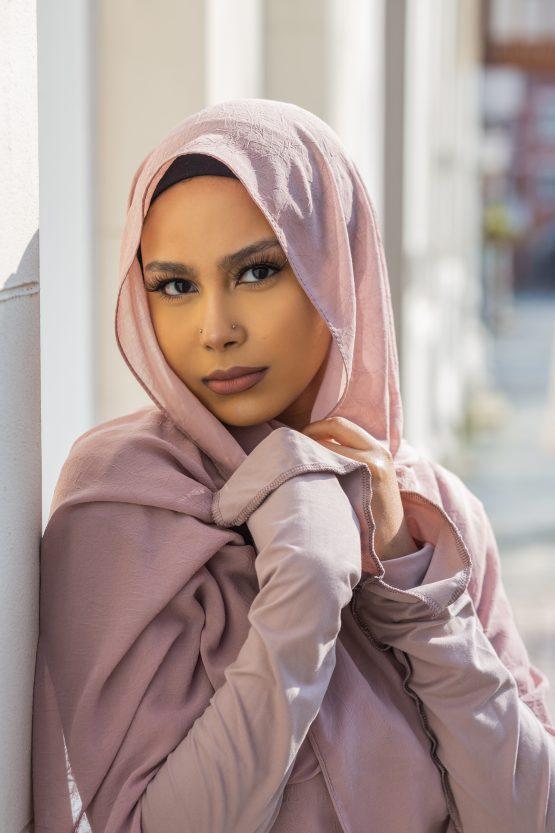 Krush Chiffon Hijab Misty Mauve
