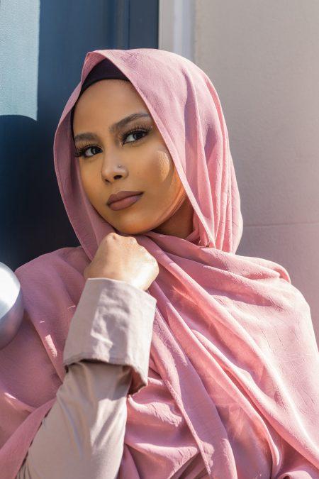 Krush Chiffon Hijab Ethereal Rose