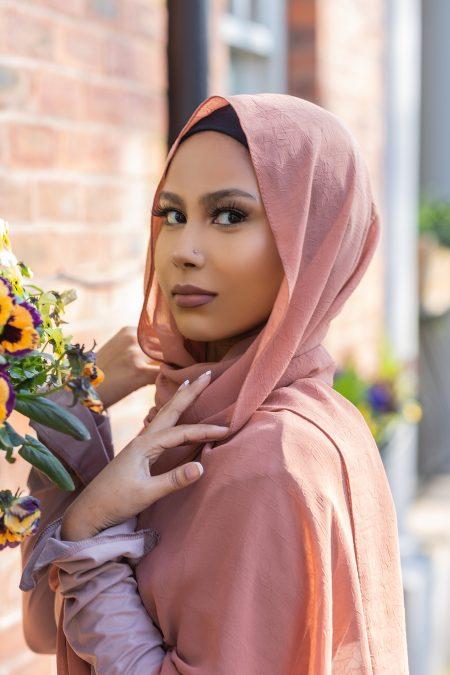 Krush Chiffon Hijab Moroccan Clay