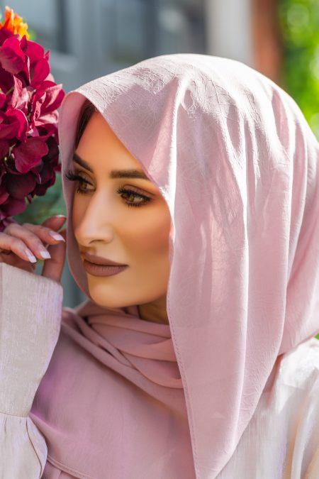 Krush Chiffon Hijab Carnation Pink