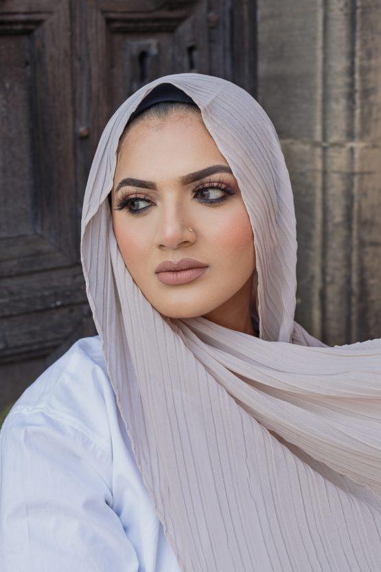 regal chiffon hijab vanilla