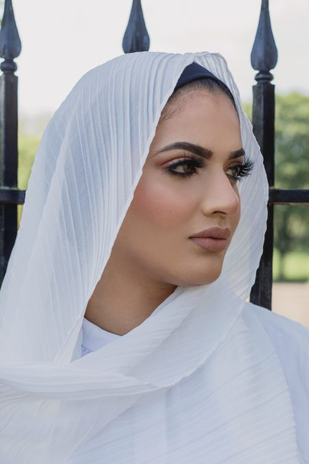 regal chiffon hijab white