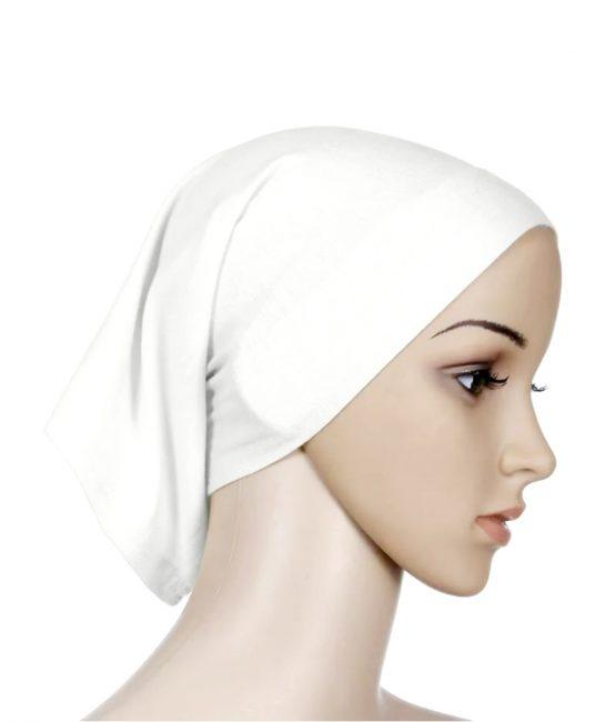 hijab undercap white